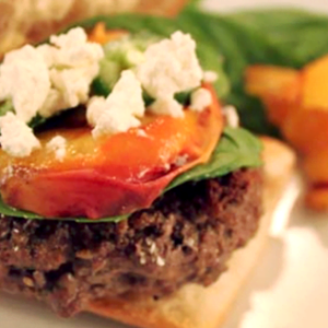 grilled-bison-burgers-with-peaches-and-jalapeno