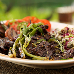 grilled-bison-skirt-steak-with-jalapeno-lime-vinaigrette
