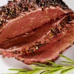 Grilled Herb Bison Tri-Tip Roast