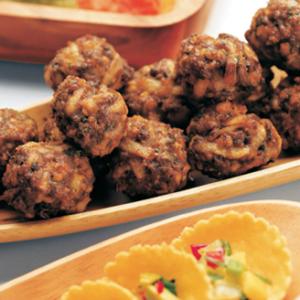 Marvelous Bison Meatballs
