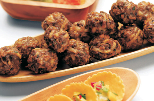 Marvelous Bison Meatballs