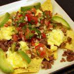 Bison Breakfast Nachos