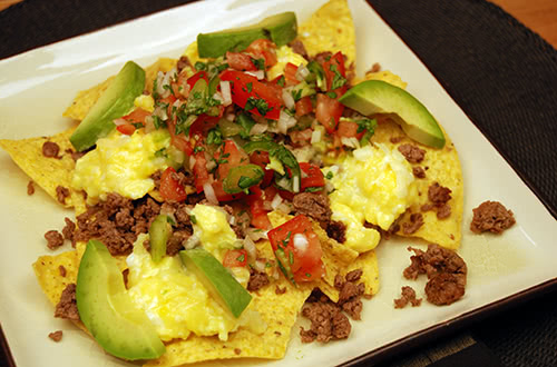Bison Breakfast Nachos
