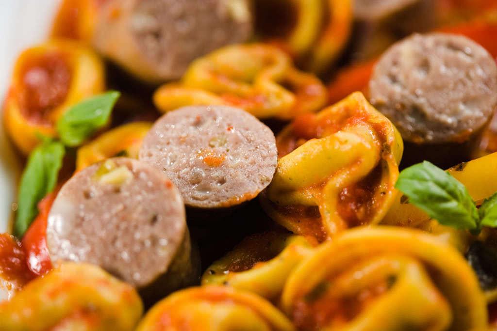 Bison Italian Sausage Tortellini