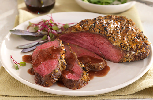 Honey Mustard Bison Sirloin Tip Roast
