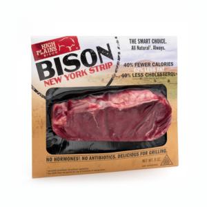 Bison New York Strip Steak