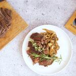 Pan-Seared High Plains Bison Ribeye Steak